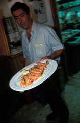 Sanlucar de Barremeda is famous for its langostinos which are served fresh at the restaurants of Bajo de Guia.