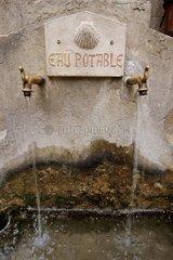 Fountain of St-Guilhem-le-Désert France