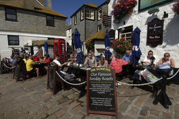 Cornwall  tourists in St Ives