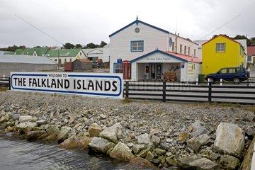 Stanley Harbour Falkland Islands Atlantic Ocean
