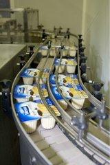 Conditionnement et emballage des laitages Laiterie Senoble