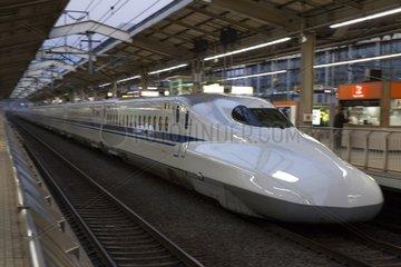 High-speed train Shinkansen - Japan