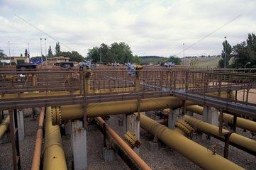Station de stockage du gaz naturel souterrain Beynes France