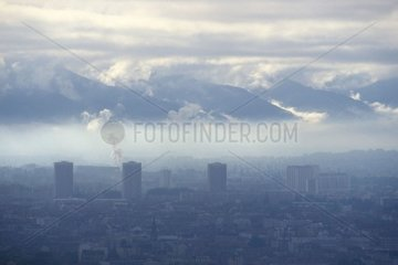 Pollution de l'air sur la ville de Grenoble et sa vallée