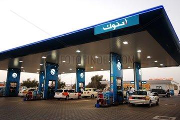 Station service Abu Dhabi Emirats Arabes