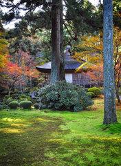 Sanzen-in temple north of Kyoto in Ohara  Japan