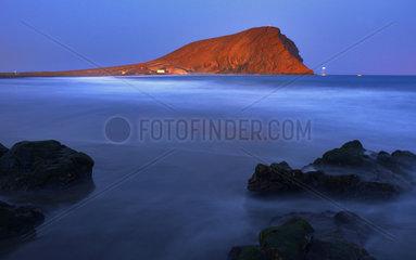 Beach of La Tejita  Natural Reserva Especial de Montaña Roja  Island of Tenerife  Canary Islands.