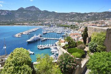 Port of Calvi  Corsica  France