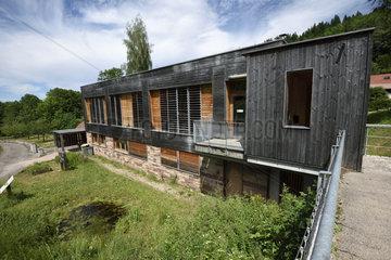 Nature house  Espace Nature et Culture  hamlet of Chateau Lambert  Haut du Them  Haute Saone  France