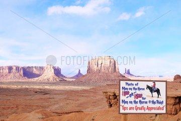 Monument Valley Site  Navajo Tribal Park  Utah  USA