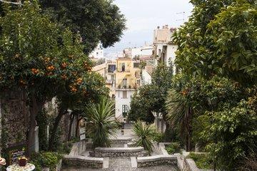 City of Taormina in Sicily - Italy