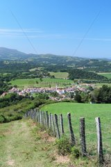 Ainhoa: typical village in the Basque Country enjoying the label The Most Beautiful Villages of France . Old bastide located on the paths of Saint Jacques de Compostela. It is also the starting point for many PR and GR10 hiking trails  Pyrenees-Atlantiques  Aquitaine  France