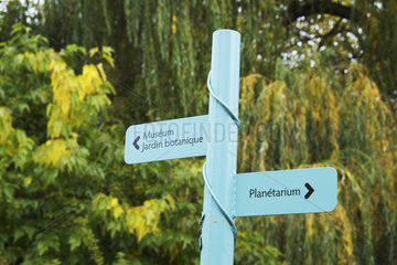 Science Garden  Arquebuse Park  Dijon  Cote d Or  France