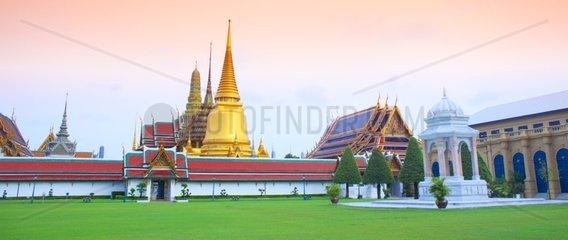 Royal Palace Wat Phra Kaeo - Bangkok Thailand