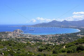 Bay of Calvi  Corsica  France