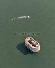 Fort Boyard and boat - Poitou-Charentes France