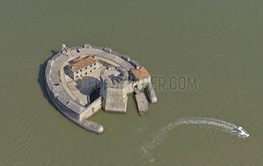 Fort Louvois on the Rocher du Chapus-Poitou-Charentes France