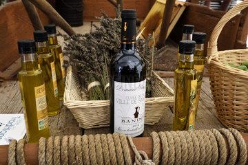exhibition of regional products  olive oil  AOC Bandol wine  lavender  Heritage Days  the port  Sanary sur Mer  Var  France