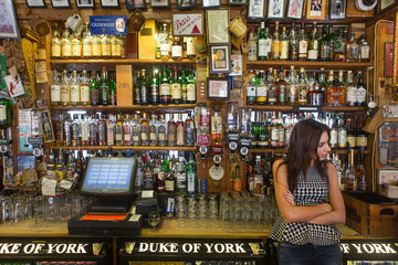 The Duke of York pub in Belfasts Cathedral Quarter