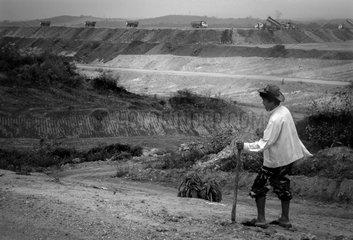 Construction of a thermal power plant - Hongsa Laos