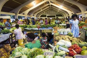 Port Vila Market  Efate Island. Vanuatu.