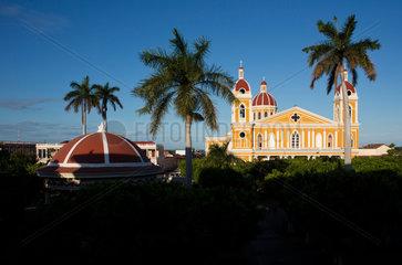 Granadas cathedral  nicaragua