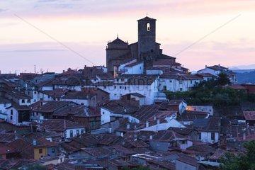 Saint Mary's Parish Church in Hervas village - Spain