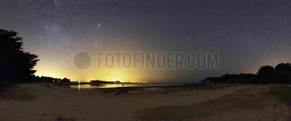 Zodiacal band beachfront - Brittany France