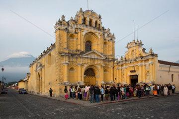 Iglesia San Pedro (Church of Saint Peter)  Antigua  guatamala