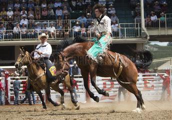 cowboy stampede in Galgary  Canada