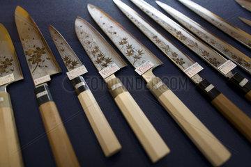 Sushi knives in Tokyo