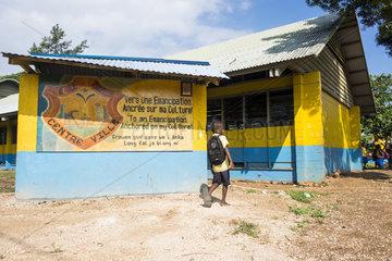 School on Efate Island  Vanuatu.