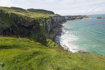 Dowhill (benone) strand in Londonderry is is used as a location for Dragstone in Game of Thrones