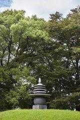 Stone Lantern - Memorial Park Hiroshima Peace Japan