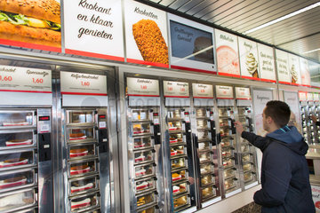 FEBO fast food restaurant in Holland