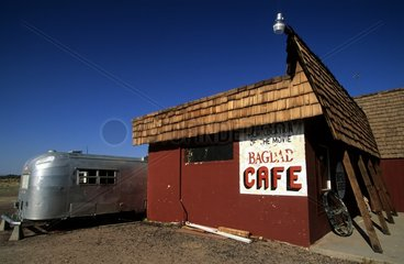 Caravan and Bagdad Cafe entry on the 66 Road California