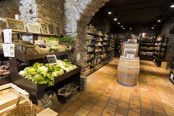 Organic shop  Noumea  New Caledonia.