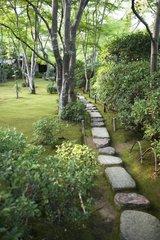 Garden of the villa Okochi Sanso - Kyoto Japan