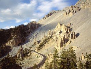 The Casse Déserte Route du Col de l'Izoard Queyras France
