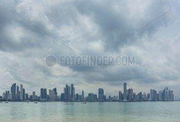 Skyline Panama City Panama