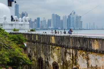 Las Bovedas building Old Town Panama City Panama