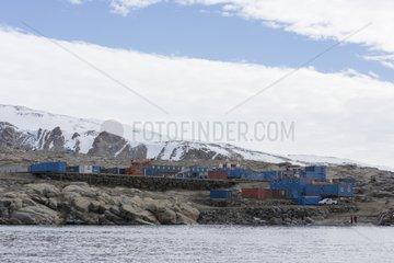 Mario Zucchelli scientific base - Ross Sea Antarctic