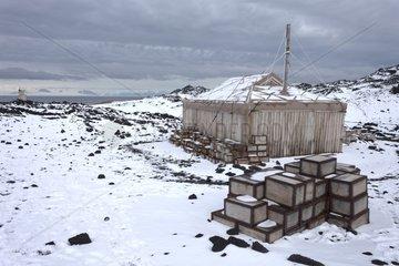 Ernest Shackleton hut - Ross Sea Antarctic