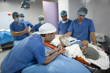 MSF emergency hospital in Ramtha  Jordan  Doctors Without Borders -Syria