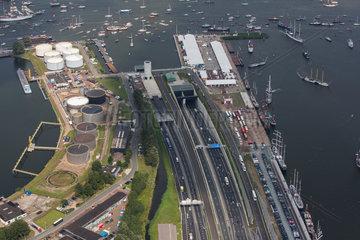 Coentunnel in Amsterdam  the Netherlands