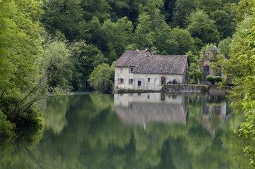 Miroir de Scey in Loue Valley Doubs