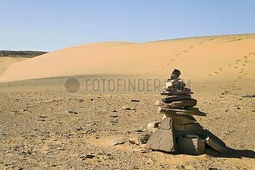 Locate ways for the Tuaregs Tassili N'ajjer Algerie