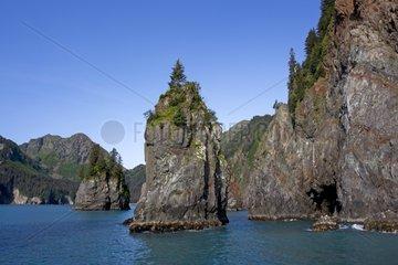 Rocky Shore - Kenai Fjords Alaska
