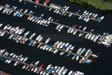 yachts at Almere  the Netherlands