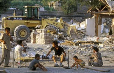 Destruction of the old Beijing & expelled 2008 Olympic Games